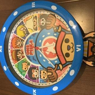 800円★ONE PIECE掛け時計★お子様向けにどうぞ