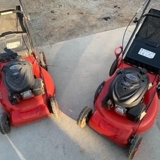 ハイガー 芝刈り機 2つセット