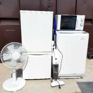 激安‼早い者勝ち‼家電5点セット 冷蔵庫 洗濯機 電子レンジ 掃...