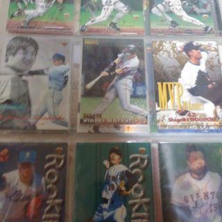 大量プロ野球カード