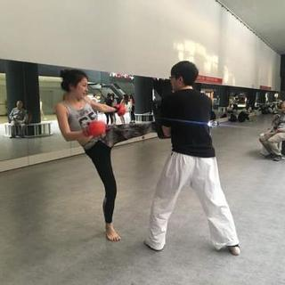 キックボクシング、日本拳法を練習し...