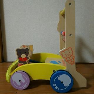 「mite mite」木製押し車【値下げ】