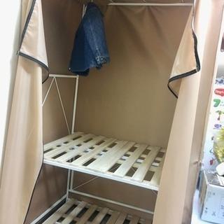 簡易クローゼット、布団収納