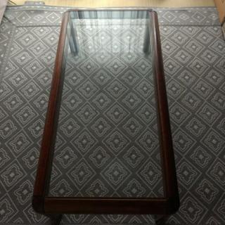 座卓(ガラス天板)