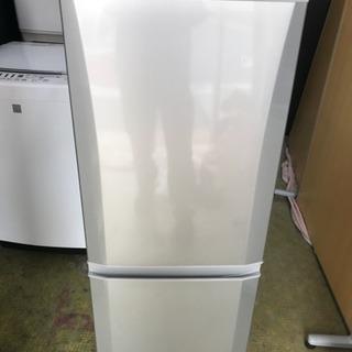 冷蔵庫 三菱 1人暮らし 単身用 2ドア 146L 2010年 M...