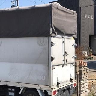 軽トラ 荷台 幌(高さ調整可能)
