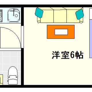 【エス・アイ・ハイツ】9号タイプ!1Kタイプ!駅ちか便利☆