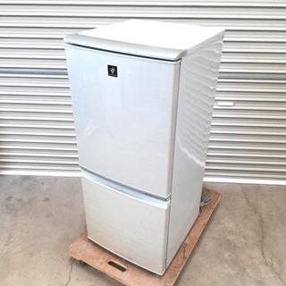 1人用 SHARP 2ドア冷蔵庫 137L SJ-PD14T-N...