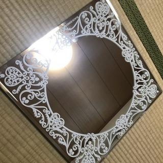 大きい鏡 41×41cm 正方形