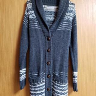 セーターのコートです。