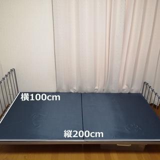 【2000円】シングルベッド【売ります】