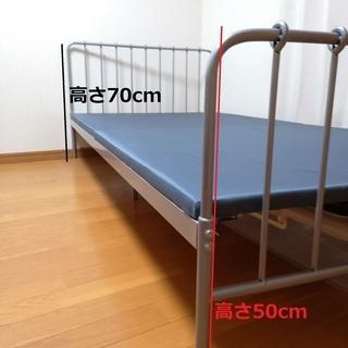 【2000円】シングルベッド【売ります】 - 家具