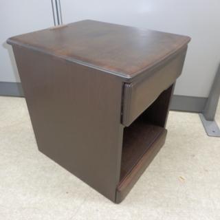 PayPay対応 幅40cmナイトテーブル/ベッドサイドチェスト/...
