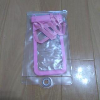 (お引渡し完了)スマホ防水ケース  ピンク