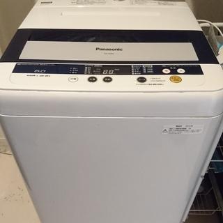 【無料】 Panasonic 全自動電気洗濯機(NA-F6…