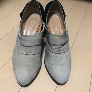 ユナイテッドアローズの靴23cm バックリボン