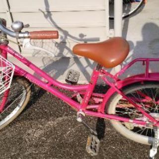 20インチ 女の子 自転車