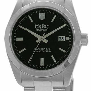 【値下げ!】★新品、未使用 POLO ポロチーム  メンズQZ腕時計