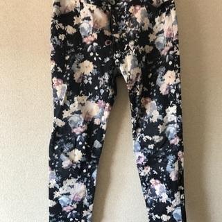 レトロガール  花柄パンツ ズボン  RETROGIRL