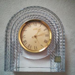 値下げ!!HOYAクリスタル置き時計1800→1600円