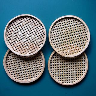 竹製コースター4個組