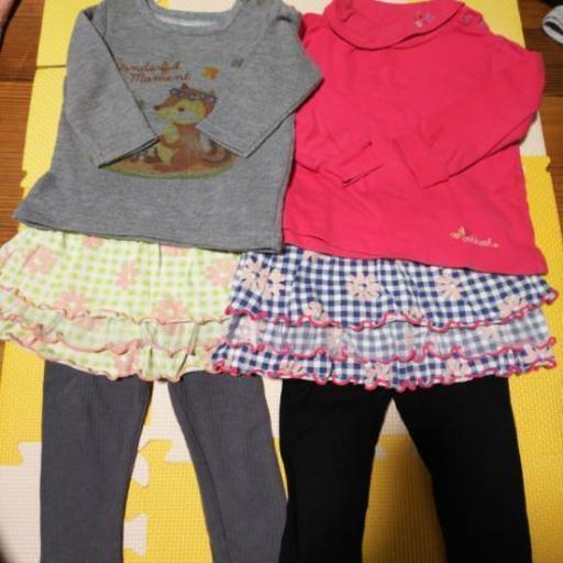 8883829c0afb1 ほぼブランド女の子洋服まとめ売り (にゃーさん) 茂原の子供用品の中古 ...