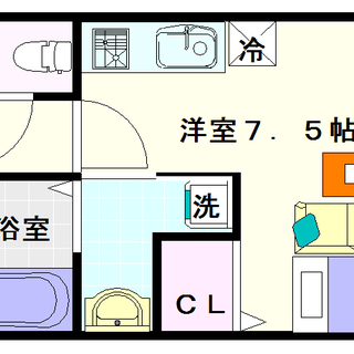 【ビバーナ日本橋】3号タイプ!1Rタイプ!雨に濡れずに電車に乗れます☆