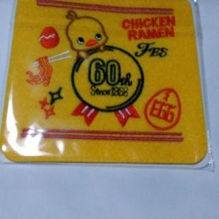 【郵送可】チキンラーメン 60周年記念 コースター