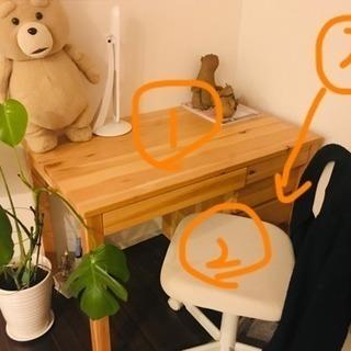机 キャビネット 椅子セット