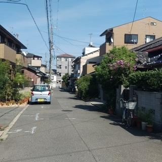 大阪市内で駅歩5分の庭付き平屋♪しかもペット(小型犬)可♪長居公...