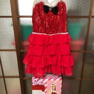 Barbieサンタコスプレ衣装