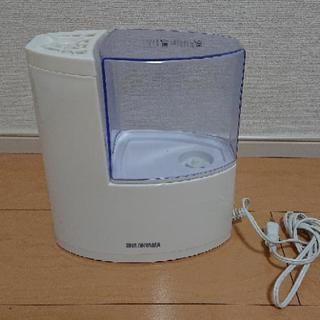 アイリスオーヤマ 加湿器 加熱式 アロマ対応 ブルー SHM-250U