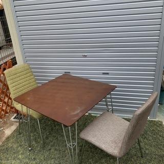 ニトリ ダイニングセット  テーブル、椅子2脚セット