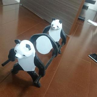 パンダの本立て ブックラック