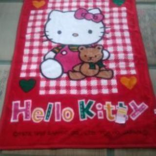 キティちゃんの毛布