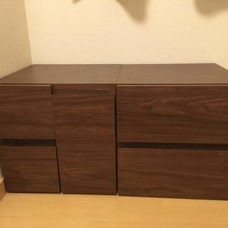 ボックス収納棚 二個セット!
