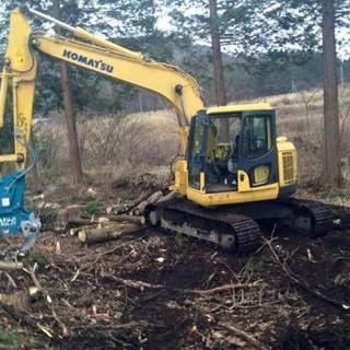 伐採、解体、舗装、造成、その他