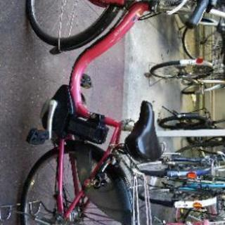 電動自転車YAMAHAピンク