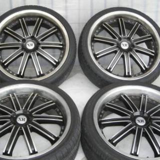 XRグランデ 20インチ5穴 ホイル&タイヤ4本