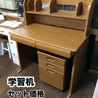新品の学習机が17800円!限定5台限りです。3個口なので車に乗り...