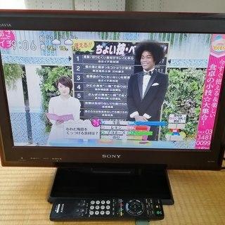 ソニー ブラビア液晶テレビ KDL-22J5 地デジ/BS/CS対応_取説書収録CD付けます。の画像