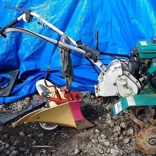 家庭菜園用小型耕運機・中古・アグリップVAC255