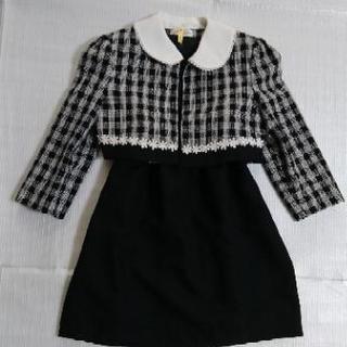 【美品】女児フォーマル用スーツスカート