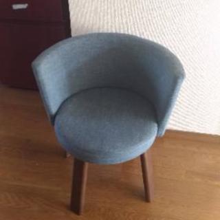 丸椅子 ライトブルー