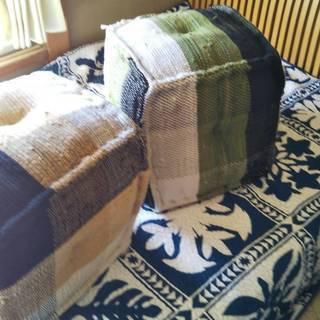 綿布製スツール セット