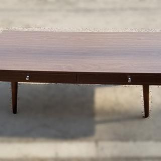 【札幌市内限定】センターテーブル 引出し付き ノーブランド 110...