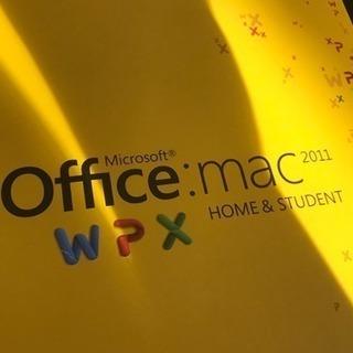 Mac用オフィス2011★ワードやエクセルを使いたい方に♩
