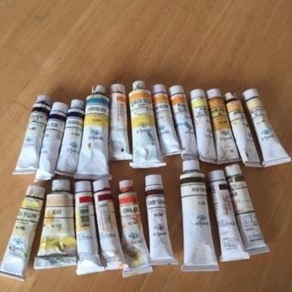 油絵具21本  くさかべ