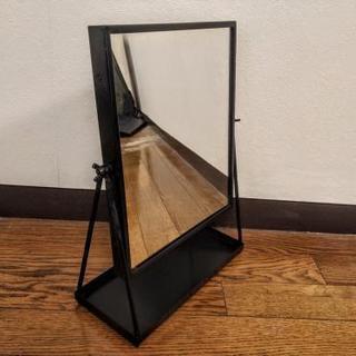 イケア製テーブルミラー 角度調節可能