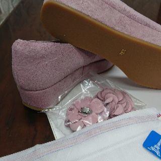 コーラルピンク! - 靴/バッグ